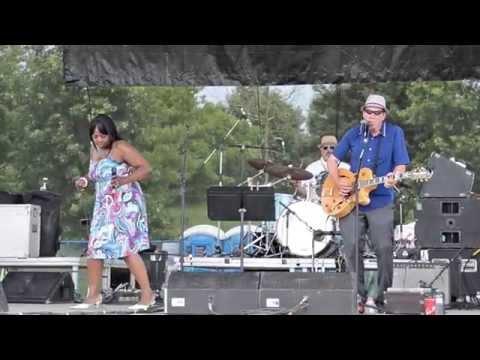 Diana Braithwaite & Chris Whiteley At  Beaches Jazz Festival!