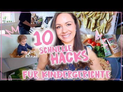 10 Hacks • Schnelles Essen Mit Kindern • Ideen Für Einfache Gerichte • Maria Castielle