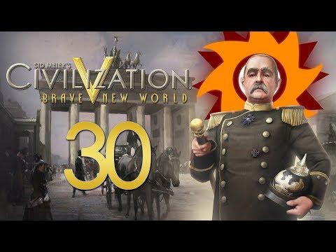Civilization V Brave New World as Germany - Episode 30 ...Modern Warfare...