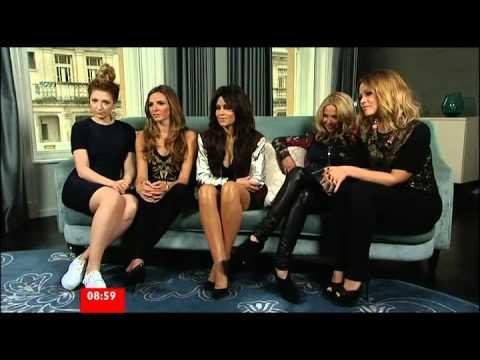 Girls Aloud BBC Breakfast Interview 12-11-2012