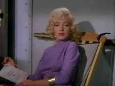 Gentlemen Prefer Blondes scene with Marilyn Monroe