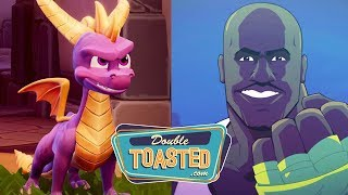 SPYRO THE DRAGON AND SHAQ-FU REBOOTS GET NEW TRAILERS - Double Toasted