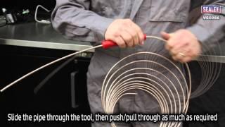 sealey vs5056 brake pipe straightening tool