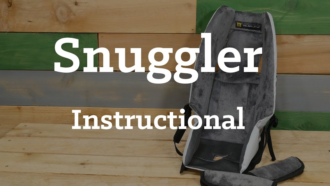 Burley Baby Snuggler Instructional Youtube