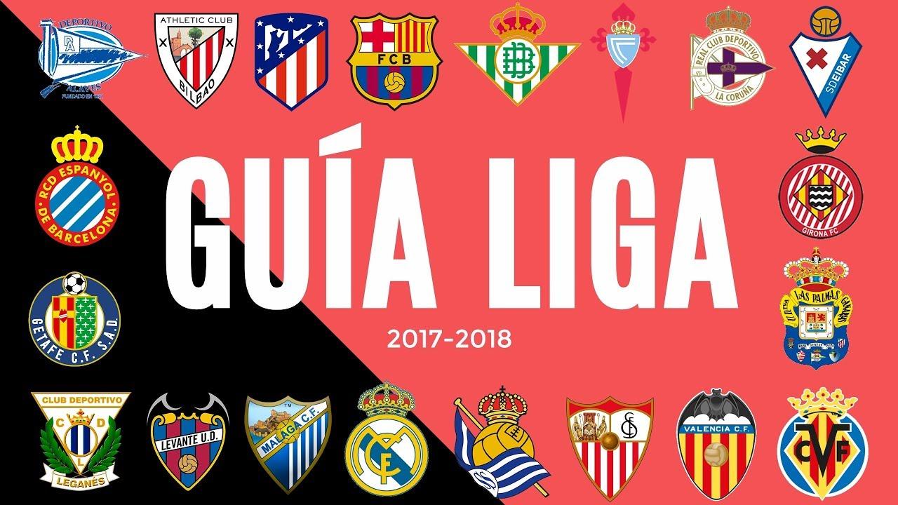 Guía de La Liga española 2017 2018 | Liga Santander | Parte 2 - YouTube