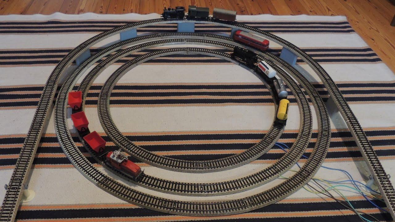 Mrklin M-track 4 radius / M-skenor 4 skenkretsar / M-spor ...