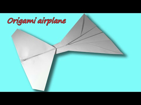 How To Make Paper Plane - Origami Plane - Diy Paper Plane - Easy