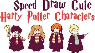Easy Harry Potter Drawing