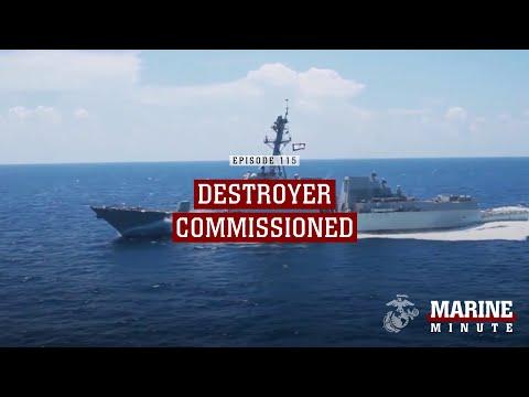 USS Ralph Johnson Commissioned