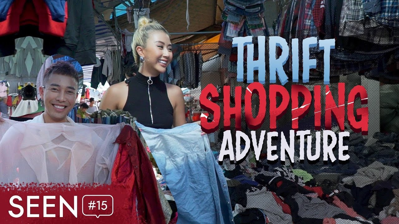 Mua Đồ Secondhand vs Hoàng Ku / Thrift Shopping Adventure | SEEN #15
