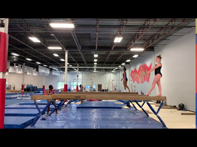 Front Tuck on Beam | June 2020