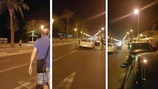 بالفيديو.. لحظة إطلاق النار على مشتبه به بإسبانيا وسقوطه قتيلاً