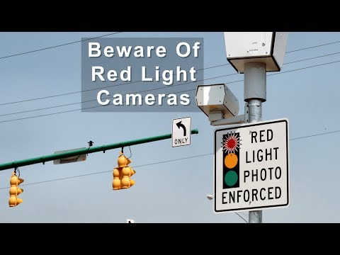 Beware Of Red Light Cameras