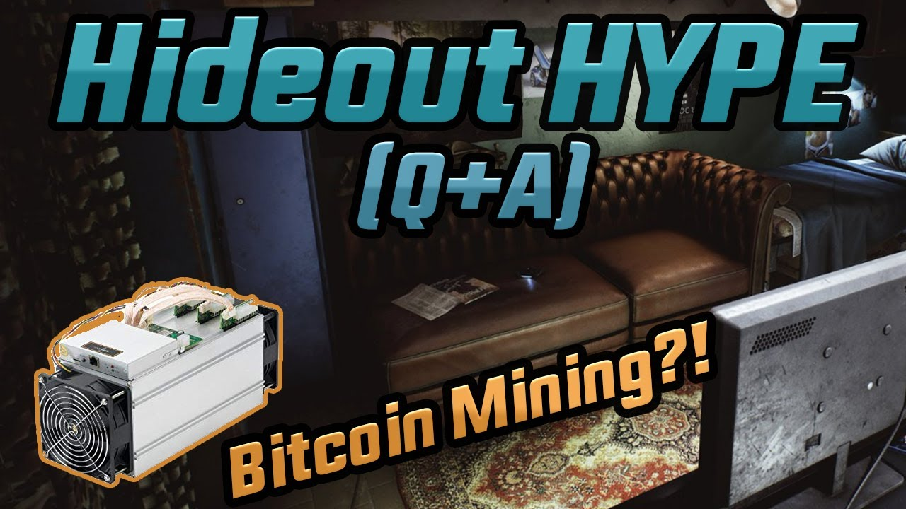 Escape From Tarkov Hideout .12 Q+A!  Bitcoin Mining?!