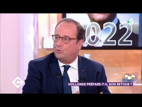 François Hollande prépare-t-il son retour ? - C à Vous - 19/11/2018