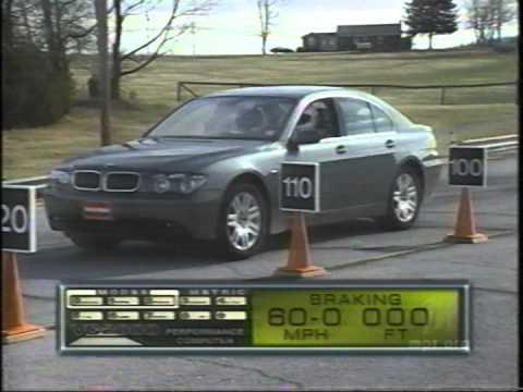 2002 BMW 745li E65 Road Test