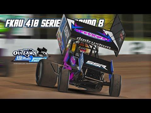iRacing: FKAU 410 Series - Round 8 (410 Sprintcars @ Lakeland)