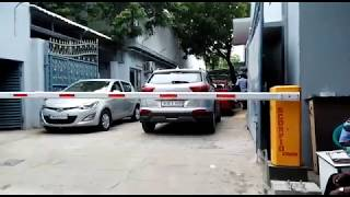 Scorpio Auto Boom Barriers - Hyundai Motor India Ltd, Ekkattuthangal, Chennai.