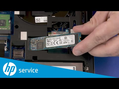 Replace the M.2 Solid State Drive   HP ZBook 17 G5, G6 Mobile Workstation   HP