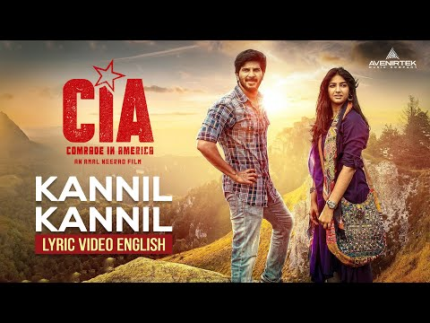 Kannil Kannil Lyric Video | English | Comrade In America ( CIA ) | Gopi Sundar | Dulquer Salmaan