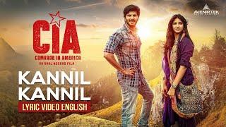 Kannil Kannil Song Lyrics Video Comrade In America ( CIA ) | Gopi Sundar, Dulquer Salmaan