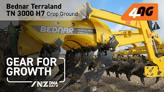 Bednar Terraland TN 3000 H7, Crop Ground, Manawatu, New Zealand