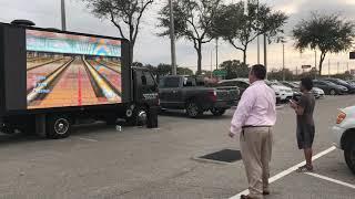 Mobile advertising Billboard   Wii having fun led truck 813 727 4111