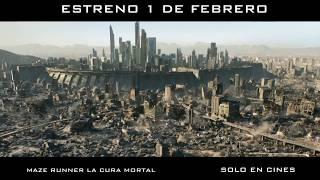 Maze Runner La Cura Mortal _ Estreno en Honduras _1 de febrero. Solo en cines
