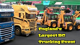 RC TRUCKS - UK RC TRUCKERS NATIONAL GATHERING - ENGLANDS LARGEST RC EVENT part 3