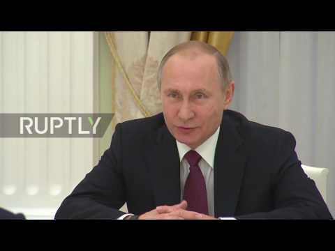 Russia: Putin meets with EEC chairman to discuss Eurasian economic integration