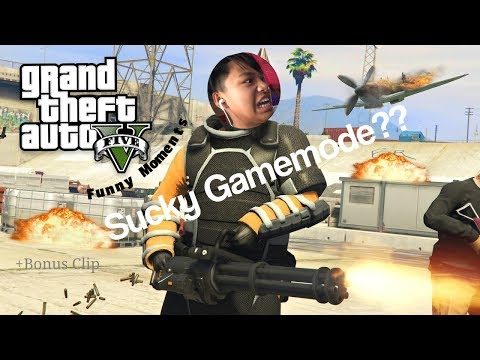 GTA 5 - RANDOM AND FUNNY MOMENTS (Power Mad, Snipers vs Free runners) +Bonus Clip