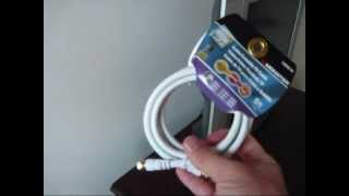 Hooking Up a Cable Television Cable (wall to TV connection)