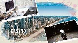 Best Intro Templates Sony Vegas Pro : Beautiful Brush Photo Slideshow