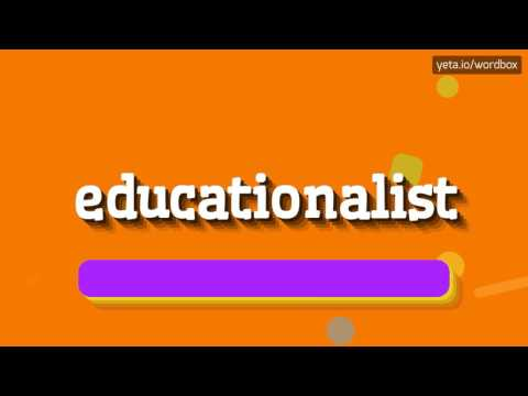EDUCATIONALIST - HOW TO PRONOUNCE IT!?