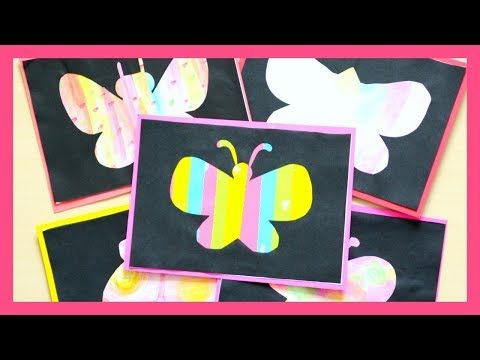 Spring art project for toddlers