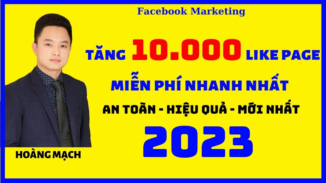 Tăng like Fanpage nhanh nhất 2020