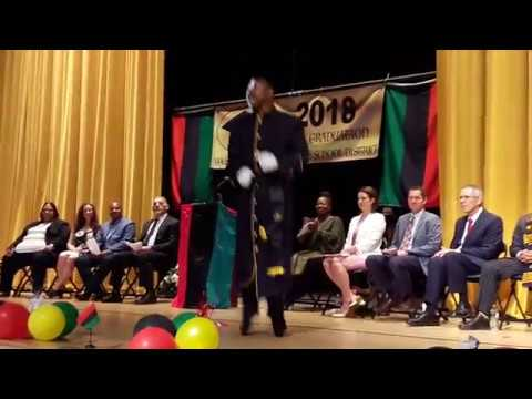 1st Annual African American Commencement Ceremony - Eric Martin II Praise Dance