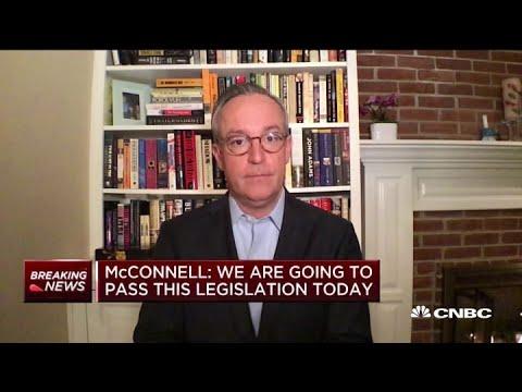Coronavirus: Senate reaches $2 trillion deal on 'phase 3' relief bill