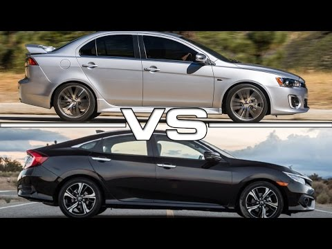 2016 Mitsubishi Lancer GT vs 2016 Honda Civic