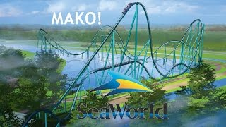 mako pov hd promo seaworld orlando new for 2016 hyper roller coaster b shark realm
