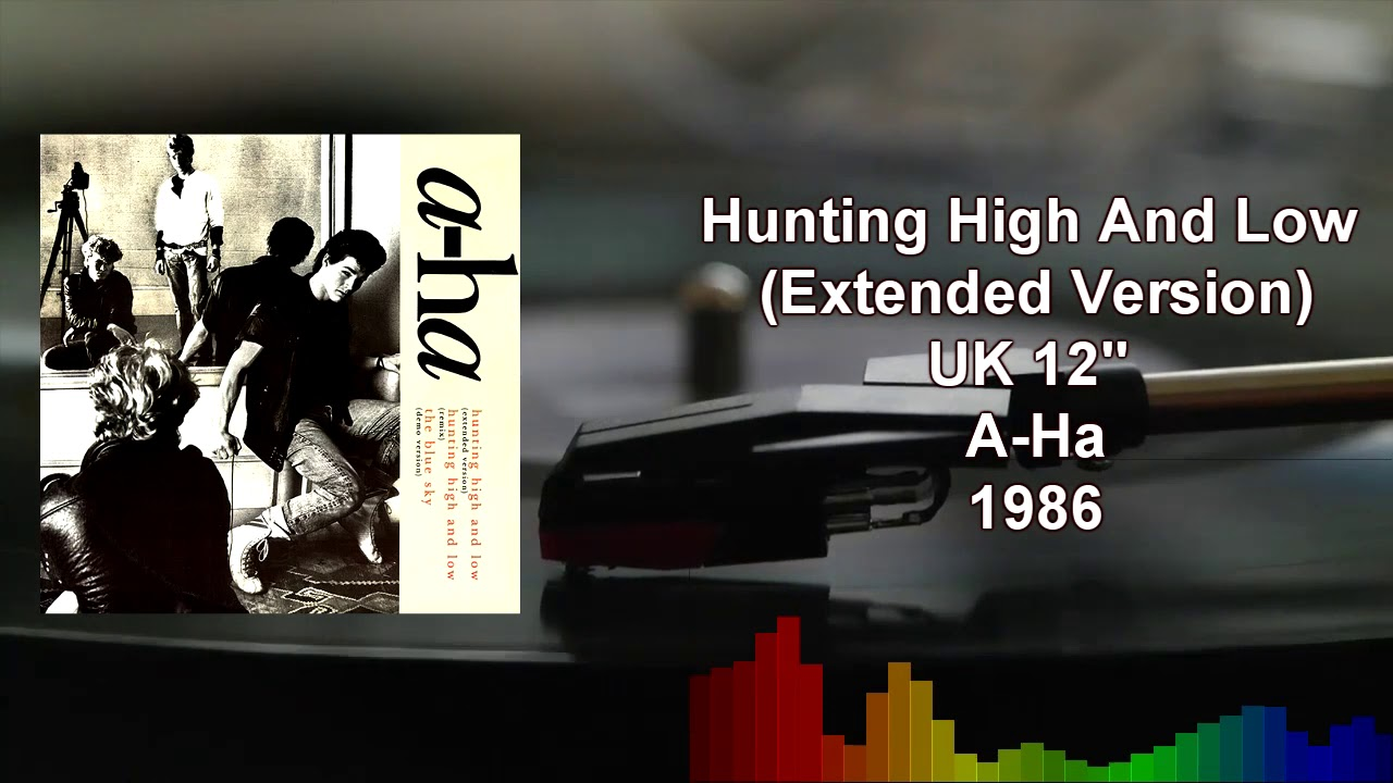 A-Ha - Hunting High And Low (Extended Version)