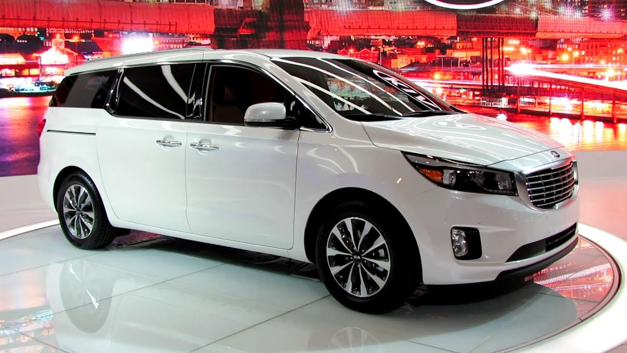 2015 KIA Sedona EX   Exterior And Interior Walkaround   Debut At 2014 New  York Auto Show   YouTube