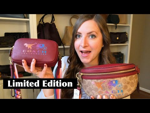 COACH + Macy's Big News!! Plus Some Limited Edition Items