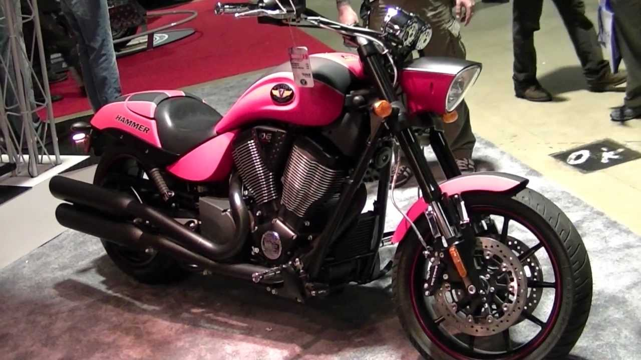 Victory Hammer S Motorcycle Youtube