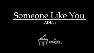 Someone Like You - Adele | Piano Karaoke