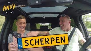 Kjell Scherpen - Bij Andy in de auto!
