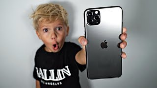 We Bought Tydus The New iPHONE 11 PRO!!