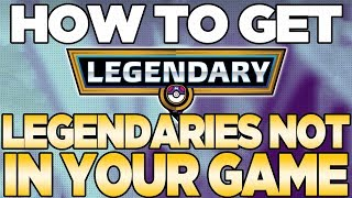 Pokemon is Giving Away Legendaries That U Can