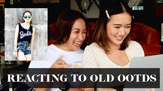 Reacting to Old OOTDs with Camille Co | Laureen Uy