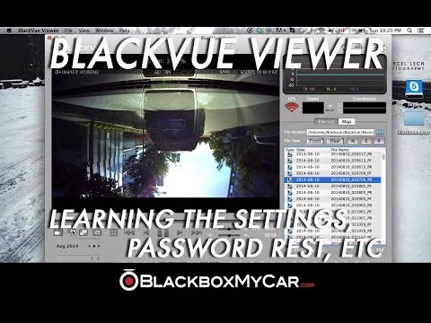 How To Use BlackVue Viewer- Best Settings, WIFI Password Rest, Etc!